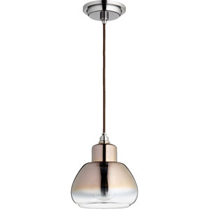 Filament Gunmetal 7.5-Inch One-Light Mini Pendant