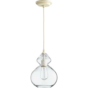 Filament Persian White 8-Inch One-Light Mini Pendant