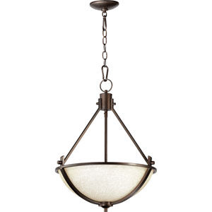 Winslet Oiled Bronze Three-Light 18-Inch Pendant