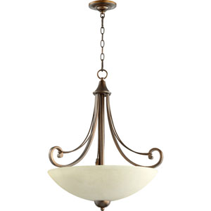 Lariat Oiled Bronze 22.5-Inch Four-Light Pendant