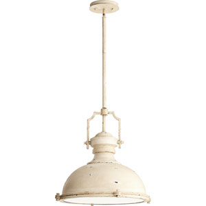 Hinge Persian White 20-Inch Three-Light Pendant
