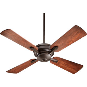Valor Oiled Bronze 52-Inch Four Blade Ceiling Fan
