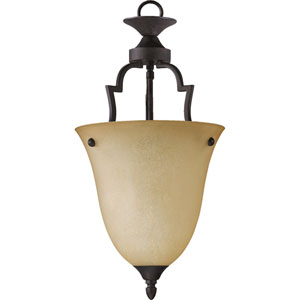 Coventry Medium One-Light Toasted Sienna Pendant