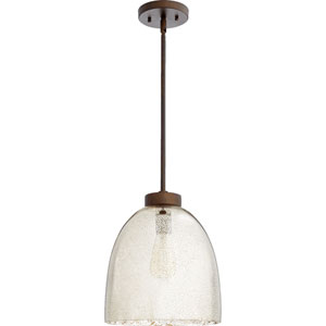 Oiled Bronze 11-Inch One-Light Pendant