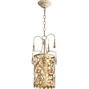 Leduc Florentine Gold 11-Inch One-Light Pendant