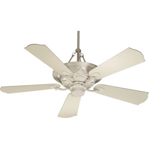 Salon Antique White 56-Inch Ceiling Fan