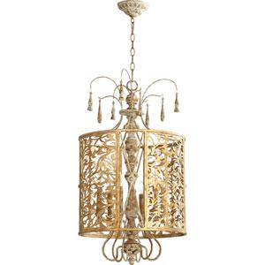 Leduc Florentine Gold 18-Inch Six-Light Pendant