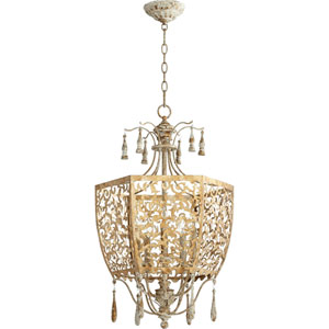 Leduc Florentine Gold 18-Inch Five-Light Pendant