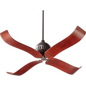 Jubilee Oiled Bronze 52-Inch Four Blade Ceiling Fan