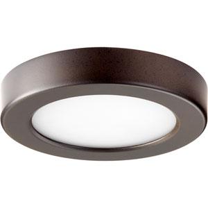 Oiled Bronze One-Light 6-Inch LED Flush Mount