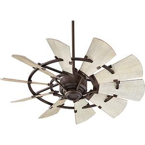 Windmill Oiled Bronze  44-Inch Ceiling Fan