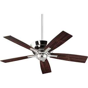 Mercer Polished Nickel  52-Inch Ceiling Fan