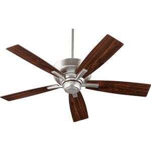 Mercer Satin Nickel 52-Inch Five Blade Ceiling Fan