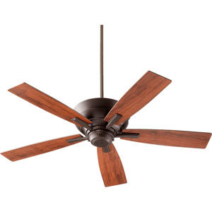 Mercer Oiled Bronze 52-Inch Five Blade Ceiling Fan