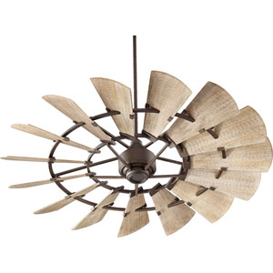 Windmill Oiled Bronze 60-Inch Ceiling Fan