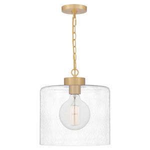 Abner Aged Brass One-Light Pendant
