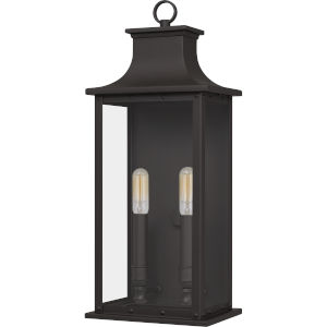Abernathy Old Bronze Two-Light Outdoor Wall Mount