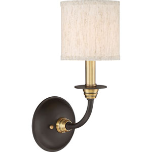 Audley Old Bronze One-Light Wall Sconce