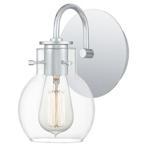 Andrews Polished Chrome One-Light Wall Sconce