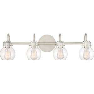 Andrews Antique Nickel Four-Light Bath Light