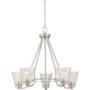 Ardmore Brushed Nickel Five-Light Chandelier