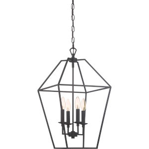 Aviary Palladian Bronze 13-Inch Four-Light Pendant
