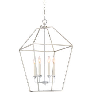Aviary Polished Nickel 20-Inch Six-Light Pendant