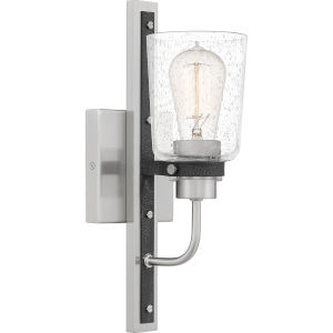 Axel Brushed Nickel One-Light Wall Sconce