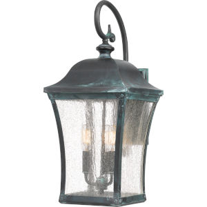 Bardstown Aged Verde Three-Light Outdoor Wall Mount