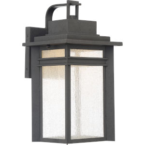 Beacon 16-Inch Stone Black LED Outdoor Wall Sconce