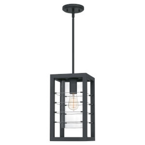 Bimini Earth Black One-Light Outdoor Pendant