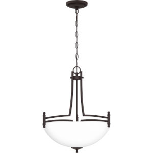 Billingsley Old Bronze 18-Inch Three-Light Pendant