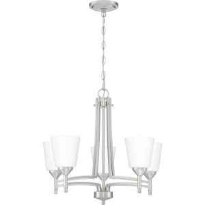Billingsley Brushed Nickel Five-Light Chandelier