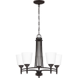 Billingsley Old Bronze Five-Light Chandelier