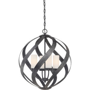 Blacksmith Old Black Finish Four-Light Pendant