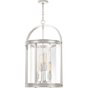 Baltimore Polished Nickel Four-Light Chandelier