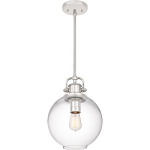 Britton Polished Nickel One-Light Pendant
