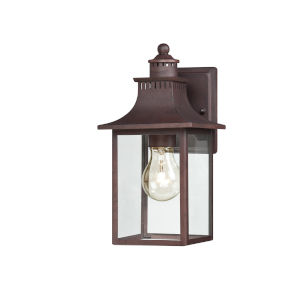 Chancellor Copper Bronze 11.5-Inch One-Light Outdoor Fixture