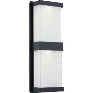 Celine Matte Black ADA LED Outdoor Wall Mount