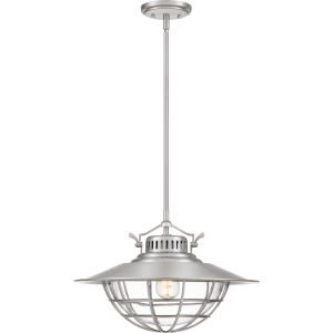 Starboard Brushed Nickel 18-Inch One-Light Pendant
