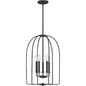 Cornell Marcado Black Five-Light Pendant
