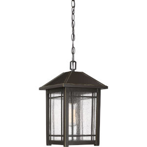 Cedar Point Palladian Bronze One-Light Outdoor Pendant