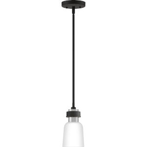 Conrad Brushed Nickel Five-Inch One-Light Mini Pendant