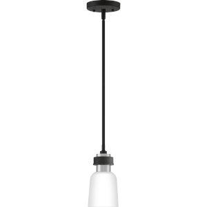 Conrad Brushed Nickel Five-Inch One-Light Mini Pendant