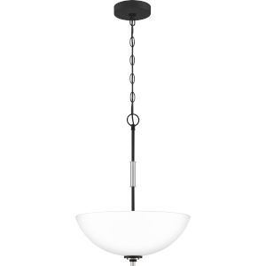 Conrad Brushed Nickel 16-Inch Three-Light Pendant