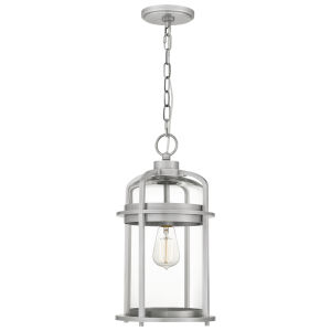 Carrington Industrial Aluminium One-Light Outdoor Pendant