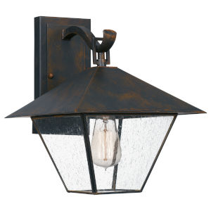 Corporal Industrial Bronze One-Light Outdoor Wall Mount