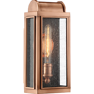 Danville Aged Copper One-Light Outdoor Wall Sconce