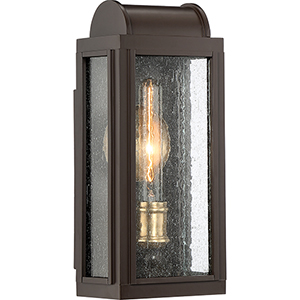 Danville Western Bronze One-Light Outdoor Wall Sconce