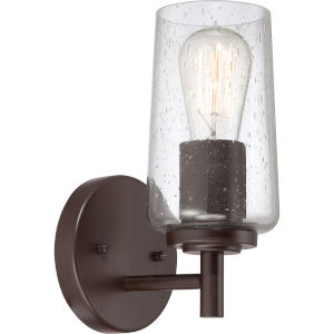 Edison Western Bronze One Light Bath Fixture